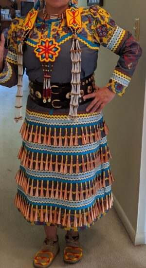 Copper Cone Jingle Dress