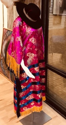 Native American Women's Traditional Silk...