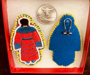 Embroidery Traditional MMIW post earrings