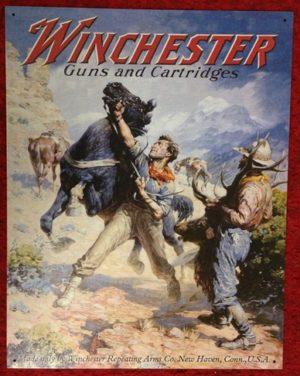 Winchester Guns and Cartridges Tin...