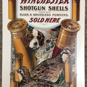 Winchester Shotgun Shells Tin Sign